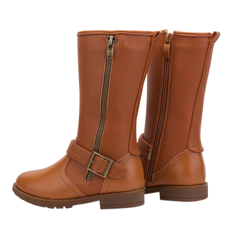 "TS ""Lacie"" Caramel Leather Boots Aus 9.5 only"