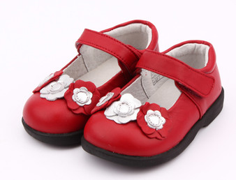 "Freycoo ""Rosie"" Red Leather Shoes"
