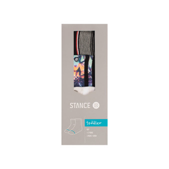 Stance Summer 3 Pack Toddler Socks 2 to 4 Years Old