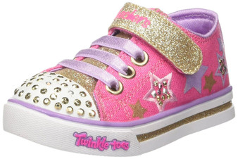 Skechers Twinkle Toes Sparkle Glitz Twinklerella girls Light Ups Aus 4 only