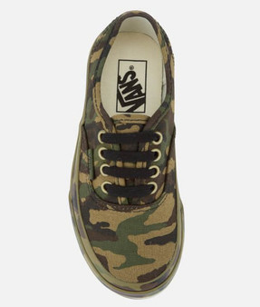 Vans Authentic Mono Camo  Kids Shoes
