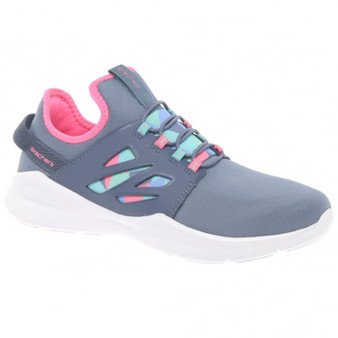 Skechers Street Squad Grey Girls Sneakers