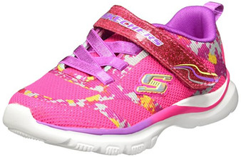 Skechers Bright Race Neon Pink girls runners US5/Aus 4