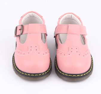 "Freycoo ""Claire""  Pink Leather Shoes"