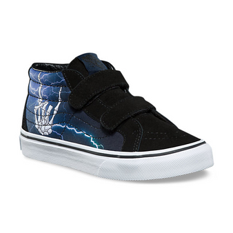 Vans SK8-Mid Rocker Bones Re Issue Kids Shoes