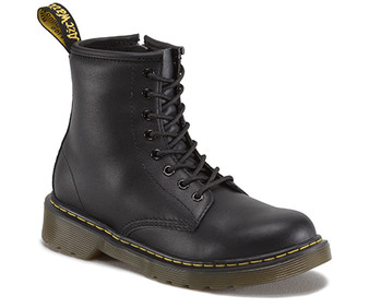 Dr Martens Delaney 1460 Softy T Black Leather Boots