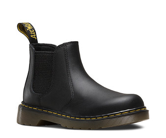 Dr Martens 2976 Chelsea Junior Black Leather Boots