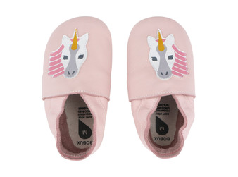 Bobux Unicorn Blossom Soft Sole Shoes