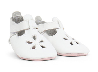 Bobux Daisy White Soft Sole Shoes