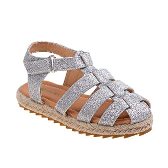 Laura Ashley Savannah Silver Sandals