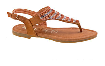 Kensie Girl Striped Girls Sandal