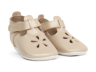 Bobux Daisy Gold Soft Sole Shoes