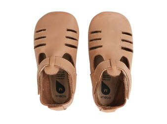 Bobux Chase Toffee Soft Sole Shoes