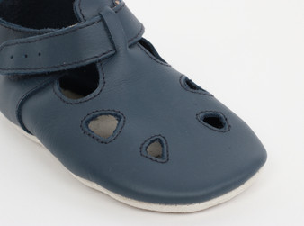 Bobux Zap Navy Soft Sole Shoes