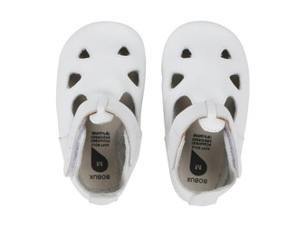 Bobux Zap White Soft Sole Shoes