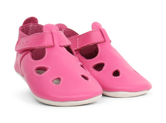 Bobux Zap Pink Soft Sole Shoes