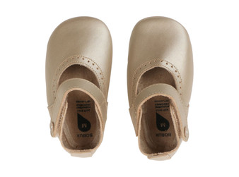 Bobux Delight Gold Soft Sole Shoes