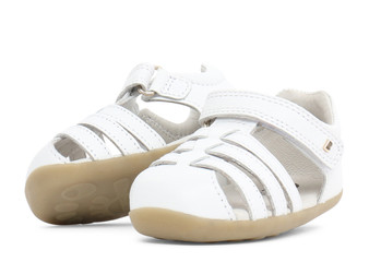 Bobux Step Up Jump White Sandal