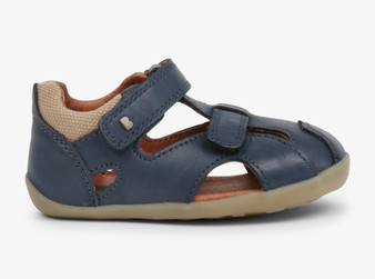 Bobux Step Up Chase Navy Sandal