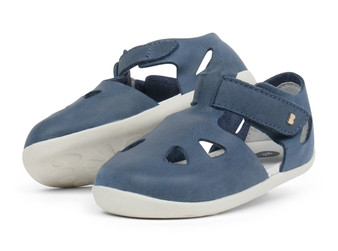 Bobux Step Up Zap Denim Sandals