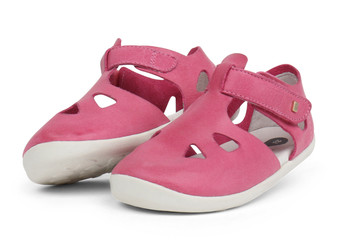 Bobux Step Up Zap Pink Sandals