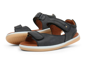 Bobux Kid Plus Driftwood Black Sandal