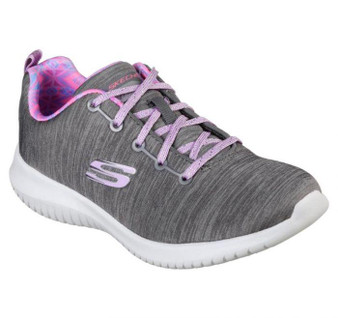 Skechers Ultra Flex First Choice Grey Sneakers
