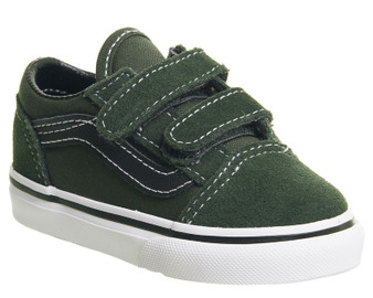 Vans Old Skool V Duffel  Toddler Shoes US5/Aus 4