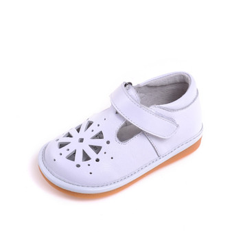 "Caroch ""Jayne"" White Leather Shoes"