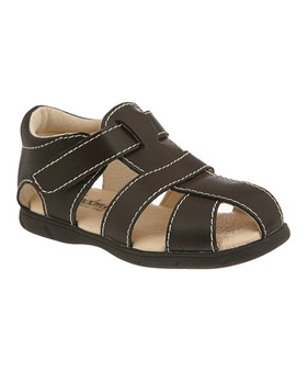 Footmates Scout Brown Leather Sandal