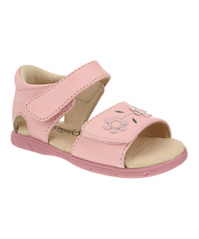 Footmates Lilly Pink Leather Sandal