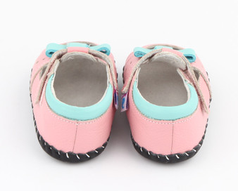 "Freycoo ""Lulu"" Pink Soft Sole Leather Shoes"
