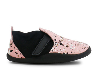 Bobux Step Up Xplorer Aktiv Spekkel Pink Splatter Shoes