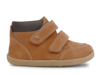 Bobux Step Up Timber Mustard leather Boot