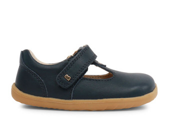 Bobux Step Up Louise Navy T Bar