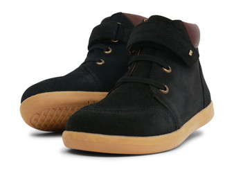 Bobux Kid Plus Timber Leather Black Boots