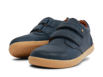 Bobux Kid Plus Port Leather Navy Shoes