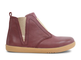 Bobux Kid Plus Signet Leather Plum Boots