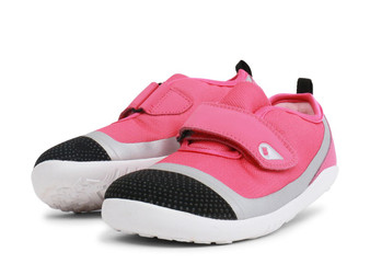 Bobux Kid Plus Lo Dimension Fuchsia shoes