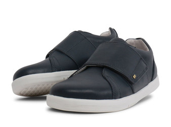 Bobux Kid Plus Boston Leather Navy shoes