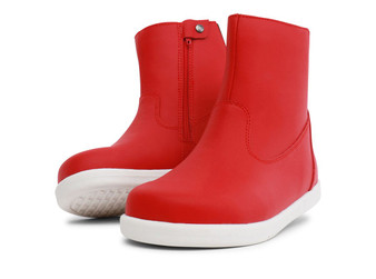 Bobux Kid Plus Paddington Red Waterproof Boots