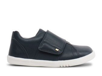 Bobux I Walk Boston Navy Leather Shoe