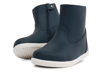 Bobux I Walk Paddington Waterproof Navy Leather boots