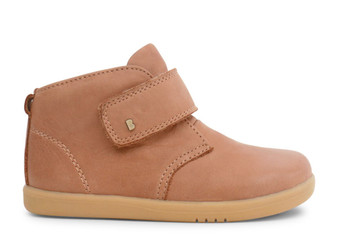 Bobux I Walk Desert Caramel Leather boots