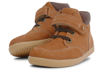 Bobux I Walk Timber Mustard Leather boots