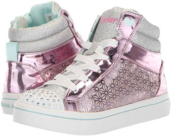 Skechers Twi-Lites Glitter Ups Girls Light Ups