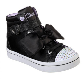 Skechers Twi-Lites Bow Beautiful Girls Light Ups