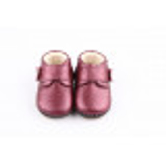 "Freycoo ""Bella"" Purple Soft Sole Leather Shoes"