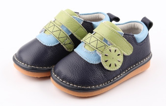 "Freycoo ""Ash"" Navy Leather Shoes"