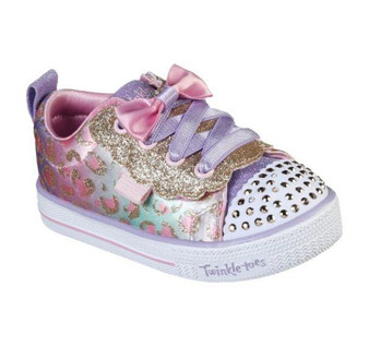 Skechers Shuffle Lite Sweet Spots toddler Light Ups
